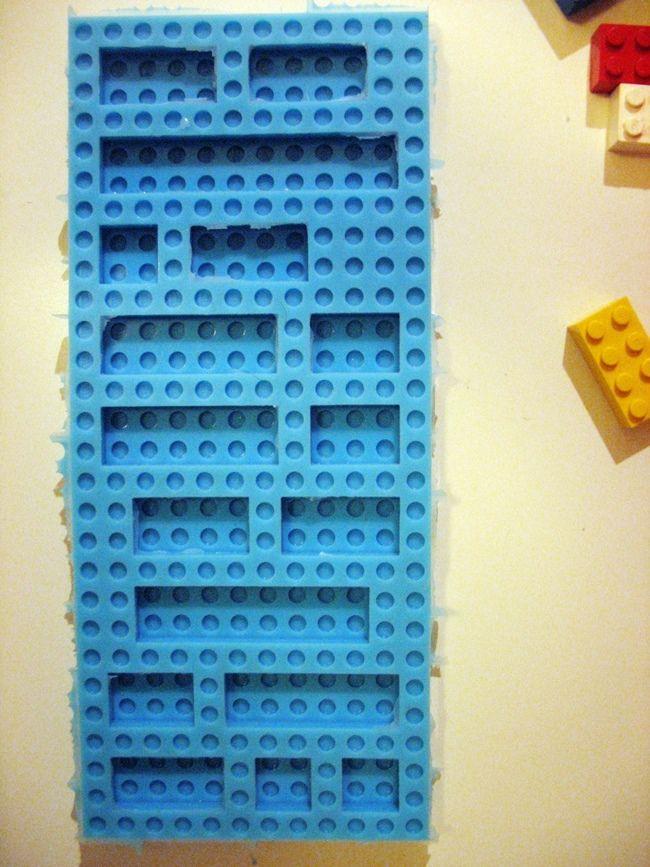 ZRÓB TO SAM czyli o silikonowych foremkach Lego