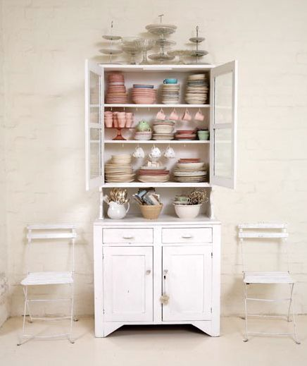 Who needs kitchen cupboards?