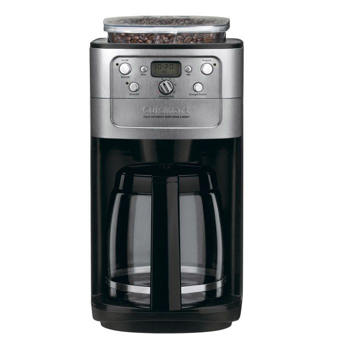 Coffee Makers with Grinder for Simplicity of Life : Fully Automatic Cuisinart Coffeemakers With Grinder Simple Design