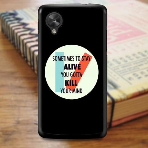 The1975 Twenty One Pilots Nexus 5 Case