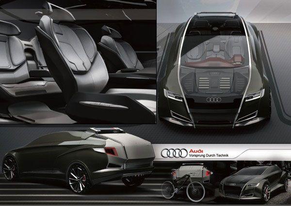 Audi Crossover Concept by Bolun Wang » Yanko Design