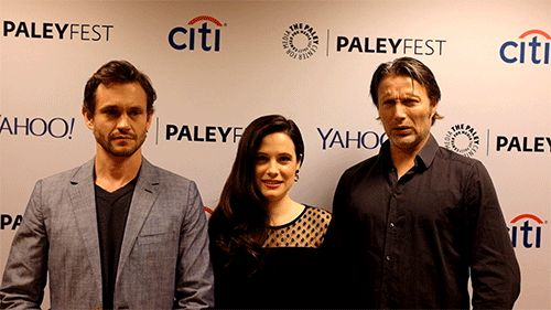 Hannibal — What was your reaction when you read the script for the season 2 finale? Tumblr GIF-erview with Hugh Dancy, Caroline Dhavernas, … | Hannibal | Pinte…