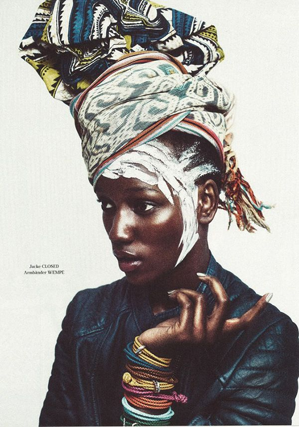 artafrica:  Featuring Tanzanian model Herieth Paul for Tush Magazine, this editorial is a blend of olden and modern Africa