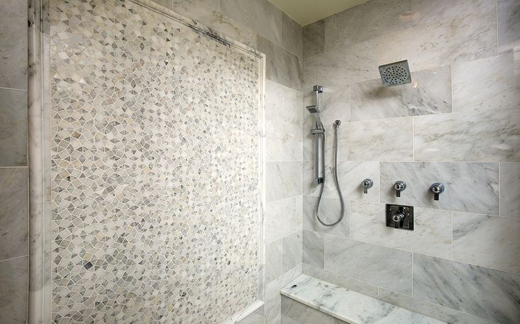 Bob Webb Home Master Shower Wall Tile Emser Tile Marble