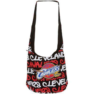 Cleveland Cavaliers Round Shoulder Bag - Black