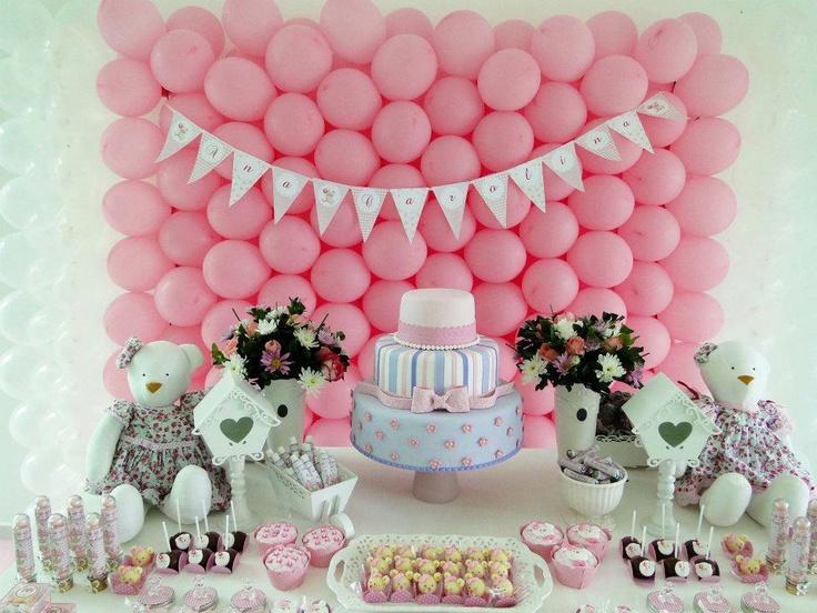 Mesa dulce Teddys y rosas