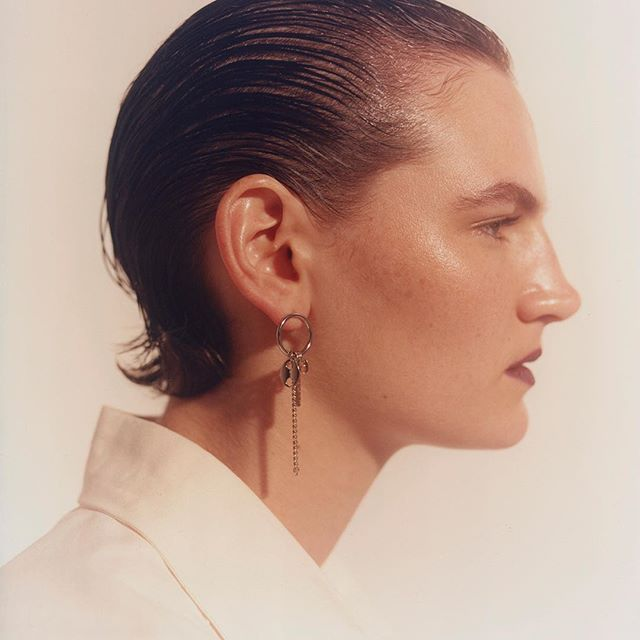 Hirschy by @maximeimbert for @justineclenquet_jewellery #ss18