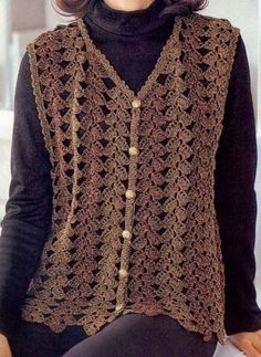 croche: Vest crochet