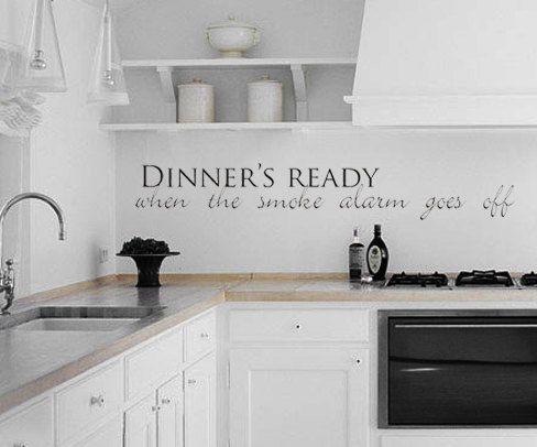 70 best Kitchen Vinyl Wall Art images on Pinterest Kitchen vinyl - wellmann küchenschränke nachkaufen