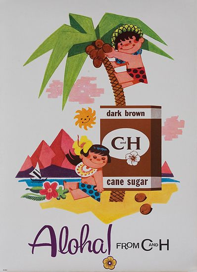 Aloha from C and H sugar,  c.1959