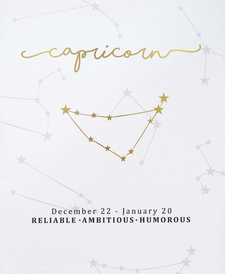 Capricorn Star Sign with meanings Ladies Pink Socks December and January Birthdays
