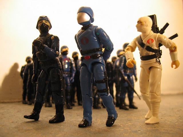 Vintage Cobra (G.I. Joe) Action Figures
