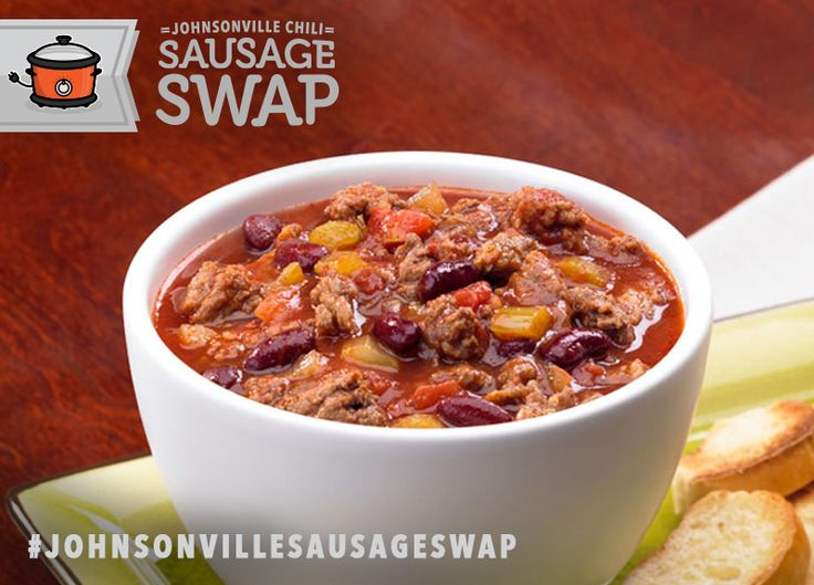 Chiliville Chili... it's just aching for a #JohnsonvilleSausageSwap! Go to www.johnsonville.com/chilisausageswap and officially register your pin(s) for a chance to #win one of 20 Crock-Pot slow cookers and Johnsonville Italian Sausage!