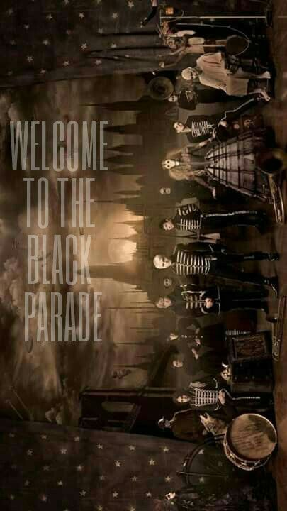 Fondo de pantalla Welcome to the black parade My Chemical Romance