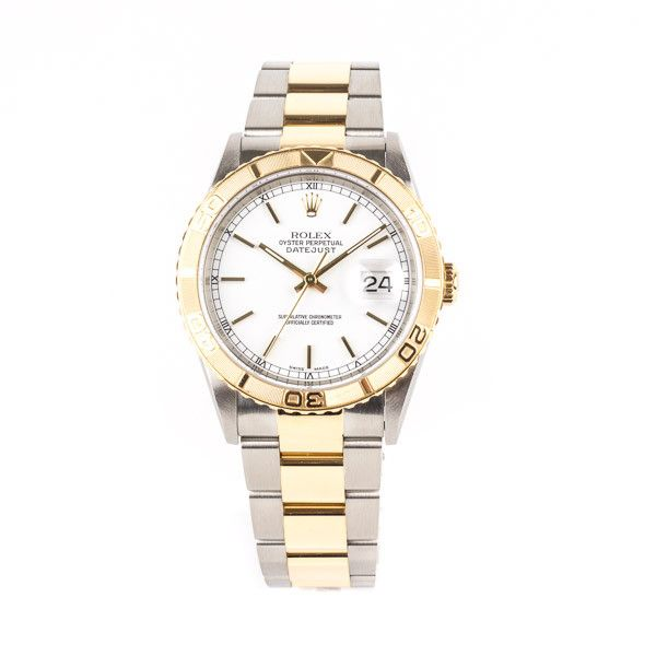 Pre-Owned Rolex Oyster Perpetual Datejust Turn-O-Graph Timepiece