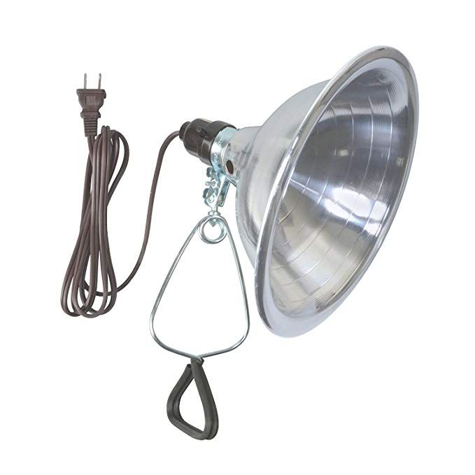 Woods Clamp Lamp Light With Aluminum Reflector 150w Ul Listed 6 Foot Cord Clamp Lamp Work Lights Lamp