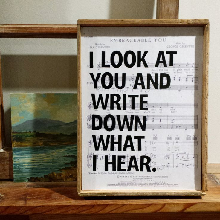 I LOOK AT YOU  |  Rustic Wall Art  |  Vintage Home Decor by BumperCropMarketing on Etsy