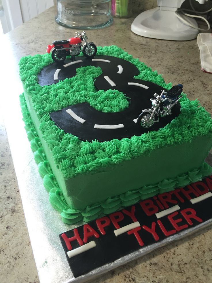 Cake Decorating Ideas Motorbikes