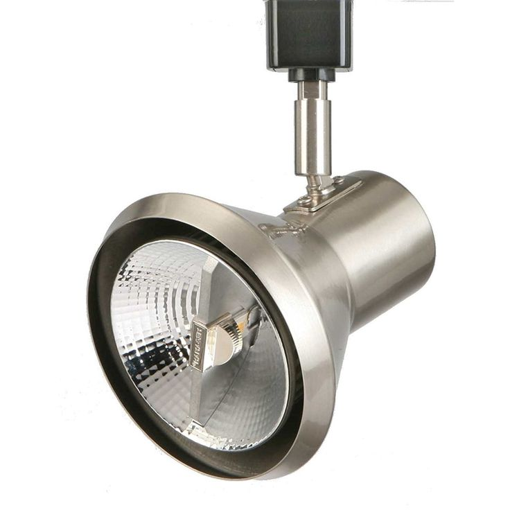 Lithonia Lighting LTH Shde PAR30 BN M24 Brushed-nickel PAR30-compatible LED Front-loading Shade Track Head