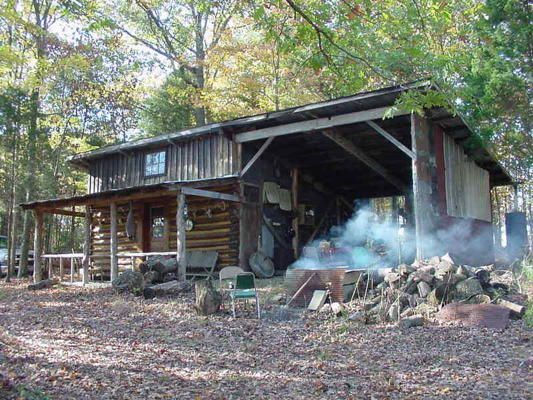 Small Hunting Cabin Interiors | Thread: Deer Hunting Cabin | Cool Cabins |  Pinterest