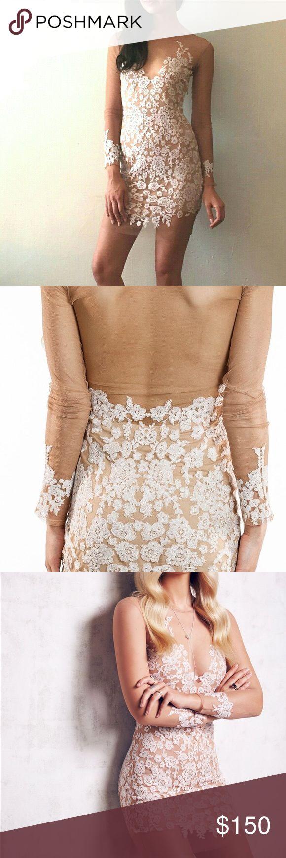 White embroidered mini dress For love and lemons white embroidered mini luau dress. For Love and Lemons Dresses Mini