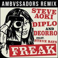 Steve Aoki, Diplo & Deorro ft. Steve Bays - Freak (AMBVSSADORS Remix) by ΛMBVSSΛDORS on SoundCloud