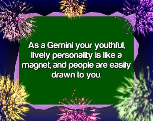 Gemini zodiac sign, astrology and horoscope star sign, pictures and descriptions. Free Daily Horoscope - http://www.free-daily-love-horoscope.com/today's-gemini-love-horoscope.html