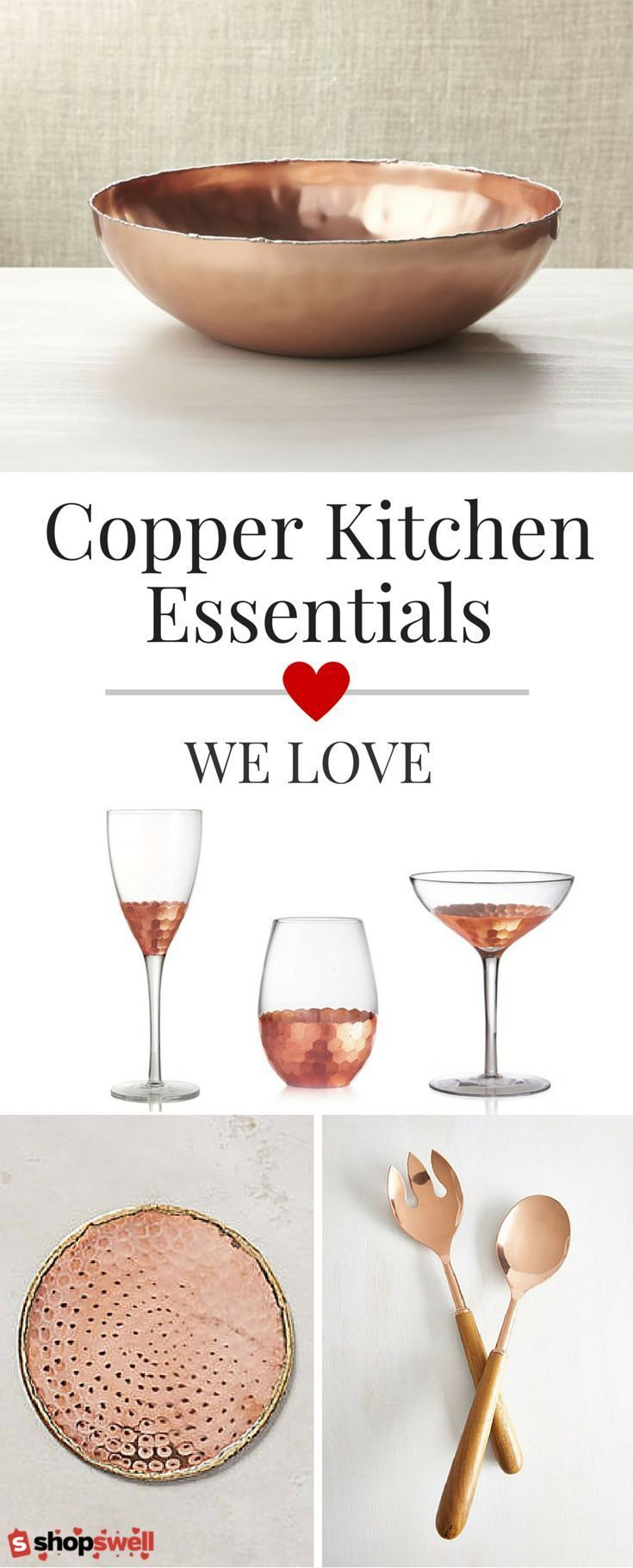 43 of our favorite copper kitchen essentials and at $50 or less you can afford to splurge a little. Start creating your copper kitchen now.
