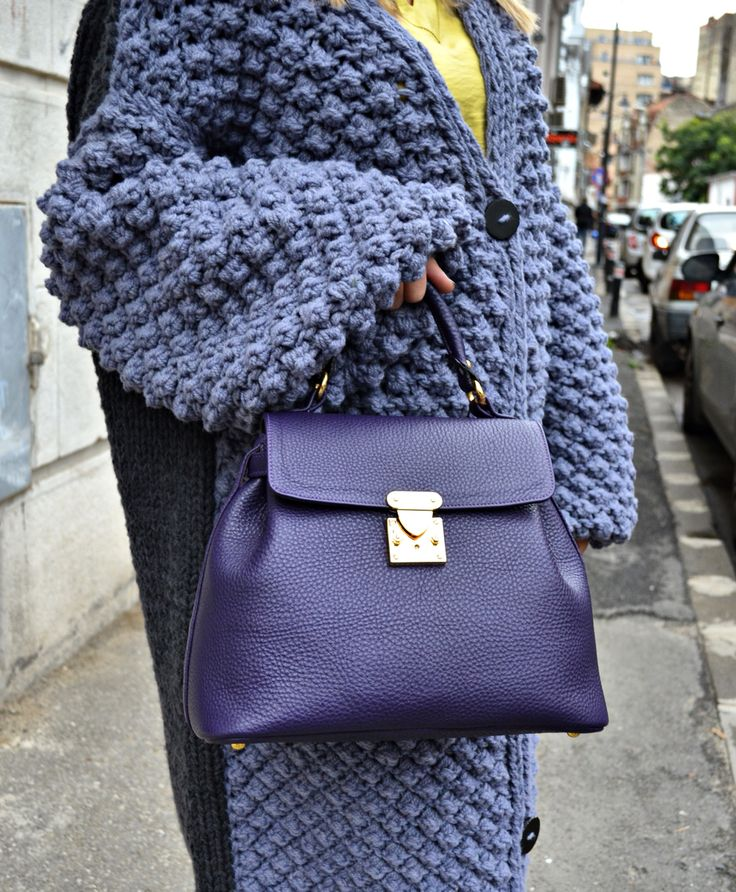 #fallwinter #collection #the5thelementbags #rosettishowroom #purple #bag