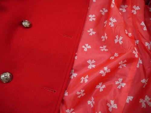 Majestic jacket detail shot.