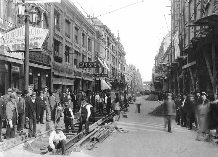 Otra vista de calle Ahumada 1930