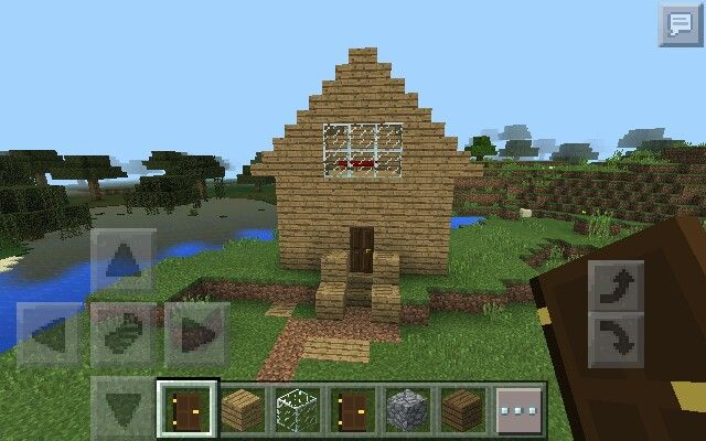 Perfect Minecraft house that is easy to build