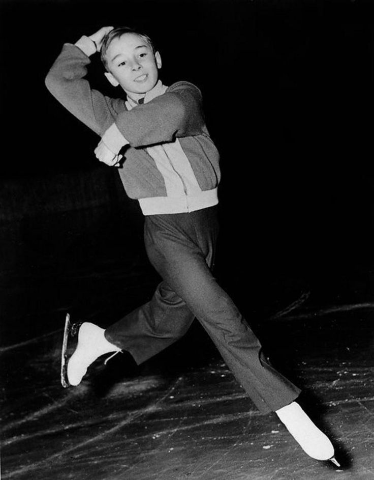 12-year-old Alain Giletti of France performs his program during the men's free figure skating competition at the Winter Olympic Games 21 February 1952 in Oslo. Giletti finished 7th as Dick Button of the United States won the gold medal. Getty Images File Photo/Winter Olympics figure skating fashions | NJ.com