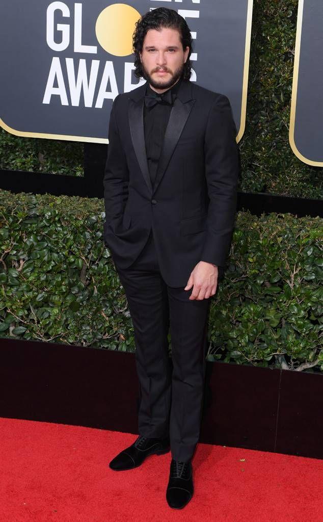 Sarah Paulson From 2018 Golden Globes Red Carpet Fashion Red Carpet Fashion Golden Globes Red Carpet Statement Dress