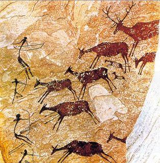 valtorta  María y el arte: PREHISTORIA: Cacería de ciervos (Castellón)