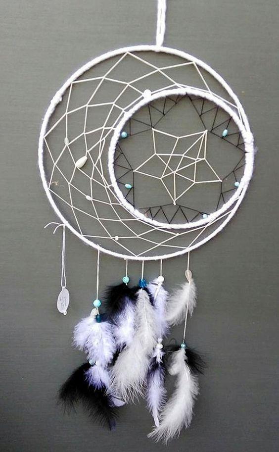 40 DIY Beautiful And Unique Dream Catcher Ideas   crafts ...   564 x 913 jpeg 68kB
