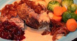 Ost och paprikafylld köttfärslimpa –