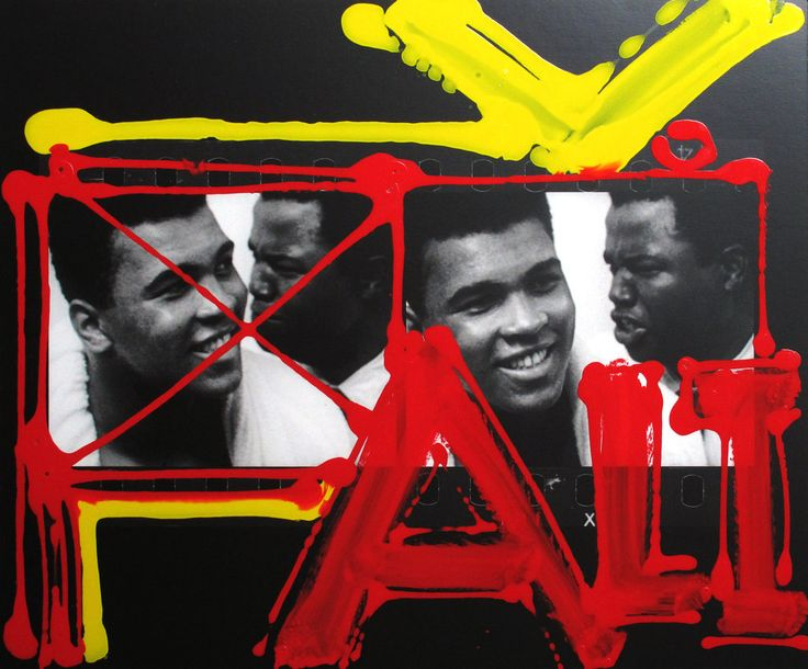 William Klein. Ali & Bundini, after beating Liston 1964 Miami http://lens.blogs.nytimes.com/2013/03/15/william-kleins-paint-and-light-show/?_r=0