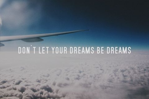 Don't let your dreams be dreams.... #travel #wanderluster #dreams #reality #goals #traveller