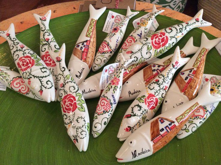 Sardinhas em cerâmica...fresquinhas! :)