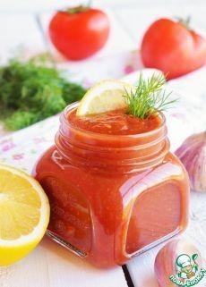 Томатный соус с лимоном для пикника - кулинарный рецепт