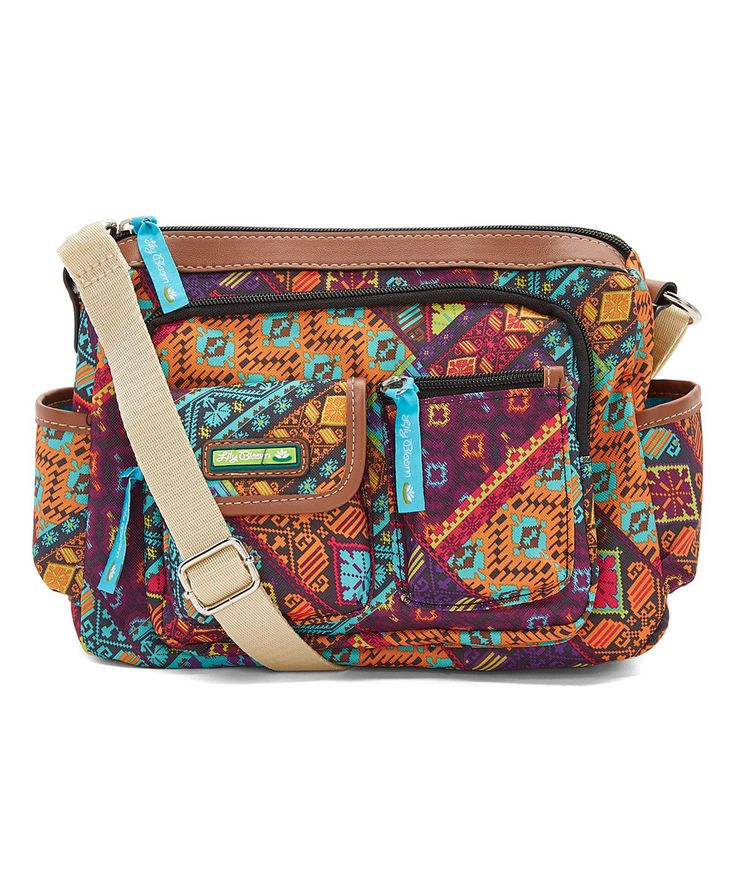 Look at this #zulilyfind! Lily Bloom Patched Shapes Libby Hobo by Lily Bloom #zulilyfinds