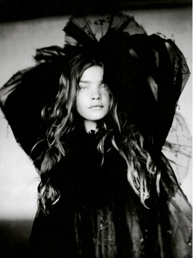 Natalia Vodianova by Paolo Roversi for Vogue Italy September 2004