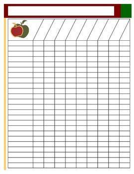 Free Blank Class List | ... Class Roster http://www.farben-lindner.de/frms/17/blank-class-list