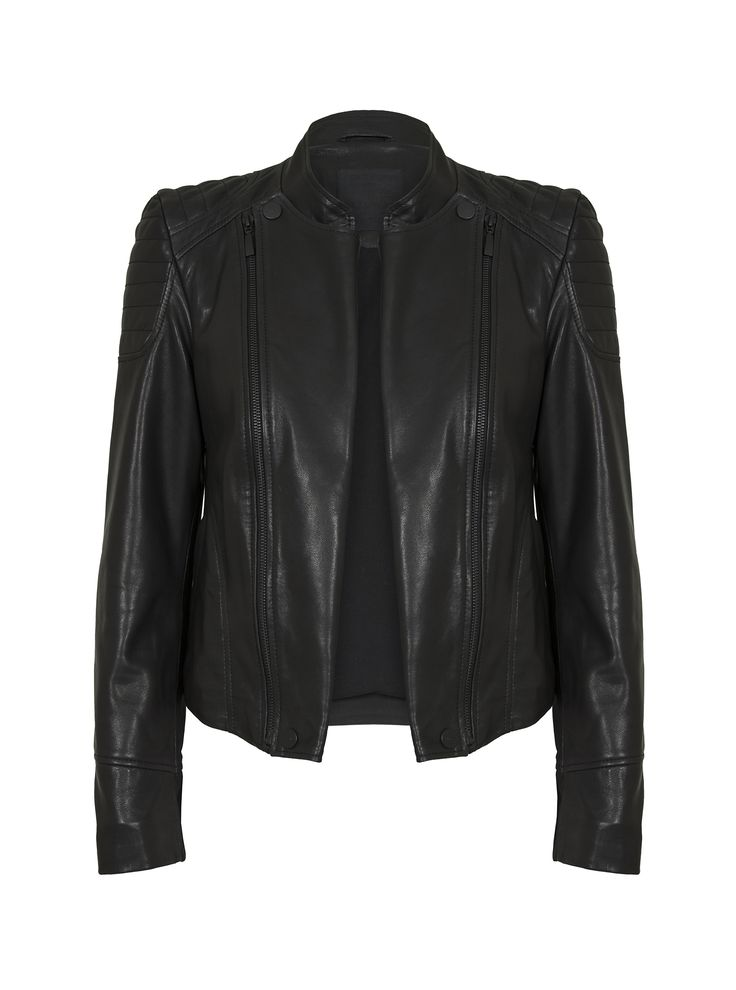JUST FEMALE AW 2014 // KEY LEATHER JACKET