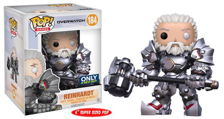 Funko pop. Overwatch. Reinhardt. Exclusive