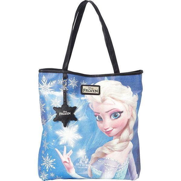 Loungefly Frozen Elsa Photo Real Tote ($35) ❤ liked on Polyvore featuring bags, handbags, tote bags, blue, manmade handbags, white tote bag, man bag, purse tote, white handbags and blue tote