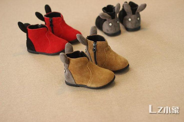 Детская обувь ботинки  замшевые  теплые с ушками  1100 руб. Размер: 15 - 30 Материал: кожа замша Детская недорогая обувь в Севастополе. Купить обувь из Китая быстро, без посредников. Больше товаров на нашем сайте sevtao.ru