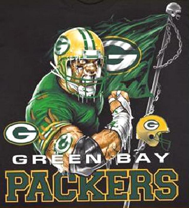 NFL Green Bay Packers Mascot Cross Stitch Pattern LOOK - Crafts ...