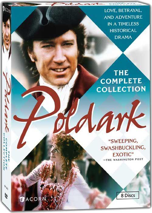 Poldark - The Complete Collection starring Robin Ellis - British TV series 1970s